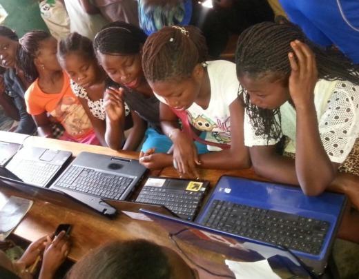 Girls Empowerment Program: computer skills