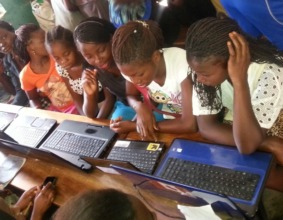 Girls Empowerment Program: computer skills