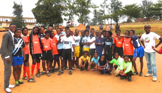 SWB Girls Team after training