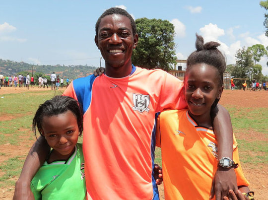 Olivier and SWB Uganda program participants