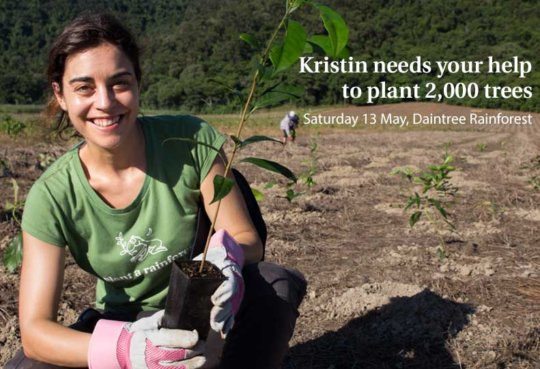 Join us at the community tree planting day