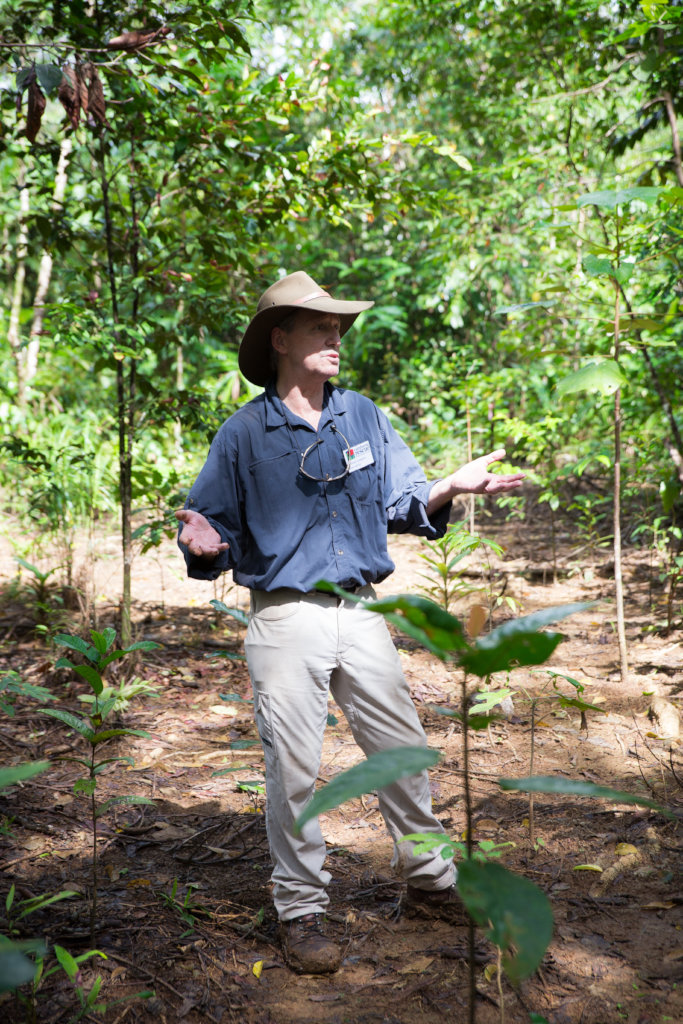 Dr Robert Kooyman in the Daintree