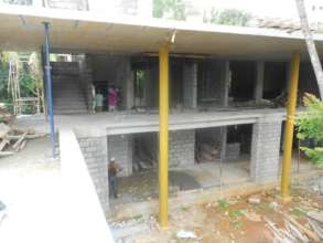Karunashraya's two new wards under construction