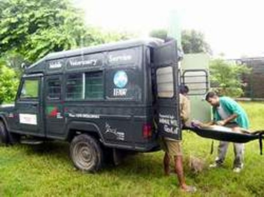 Support Mobile Ambulance Service for Wild Animals