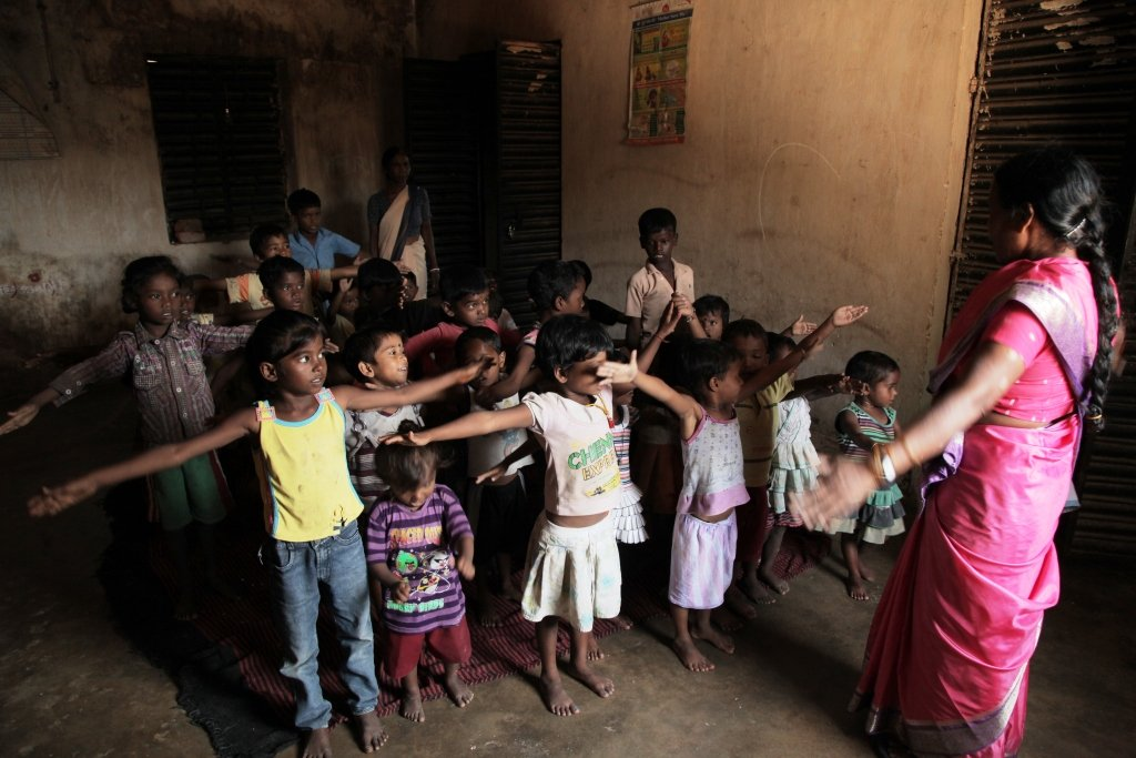Story cards for 1.2 million Aanganwadi children