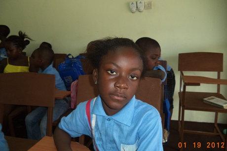 Please help orphan Vera to stay in school,Ghana