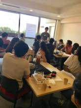 Youth Impact leadership planning mixer