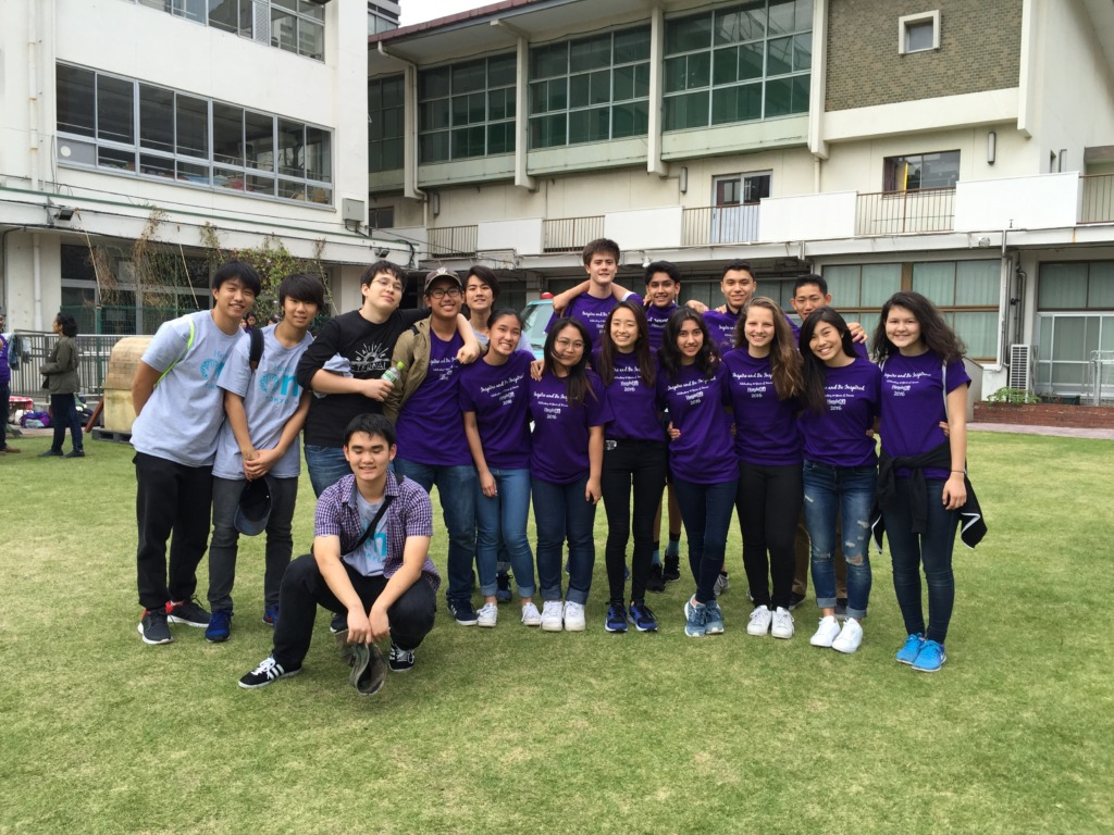 Teen Board at Day of Service 2016