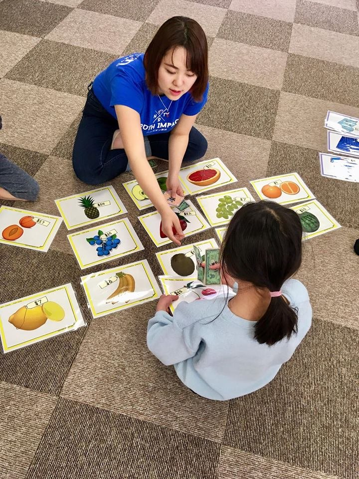 Hands On Tokyo Youth Impact Project