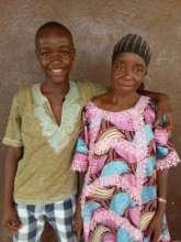 Bockarie Samuels and his grandmother Marie Koroma