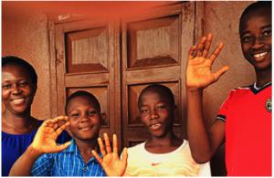 A family united in Sierra Leone