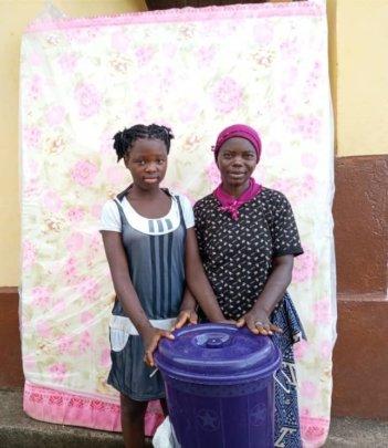 Josephine and her aunt.