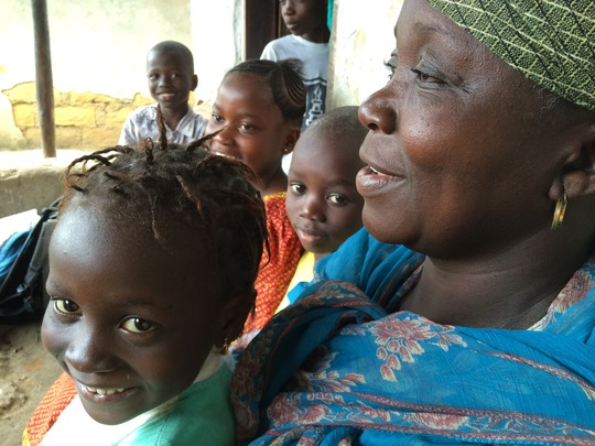 A Kidsave mother in Kenema