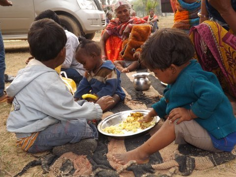 Provide nutritious food for malnourished children