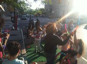 PARK(ing) Day 2014 in the Bronx