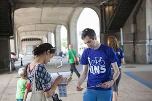 Petitioning for a Safer Queens Boulevard
