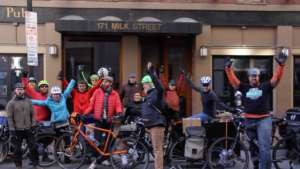 MassBike moves by bike to a new shared office!
