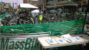 Bike valet program at work!