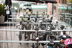 Bike valet parking