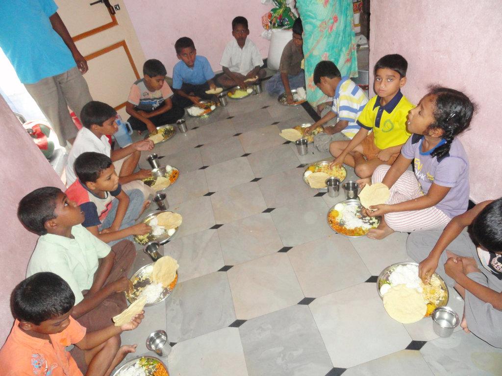 Provide Lunch for Underprivileged Children