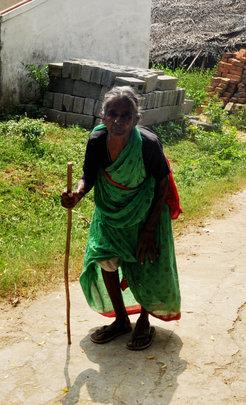 Provide neglected elder food,medicine & clothing