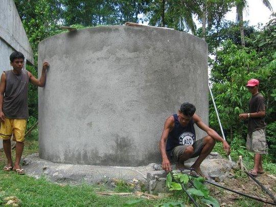 Completed Reservoir in Mianluha & Nangka