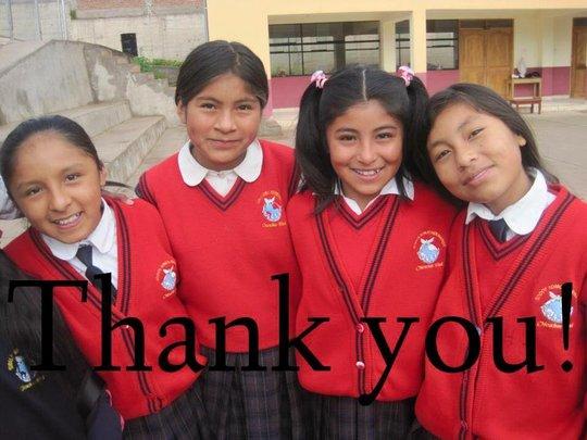 Send Disadvantaged Rural Girls To School In Peru