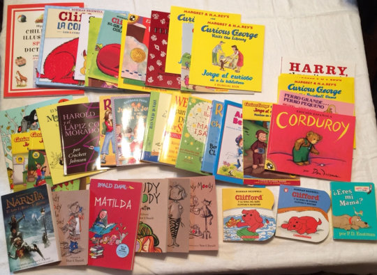 Our new books donated from CA donor.