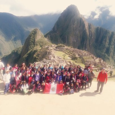 56 CW girls first trip to Inca heritage MachuPicch