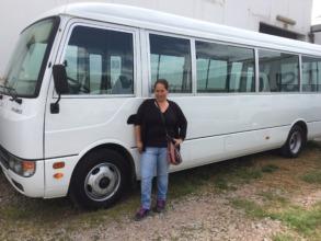 New Chicuchas Wasi School Bus