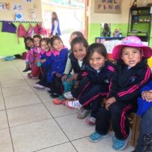 Our 4 y/o newbies begin school