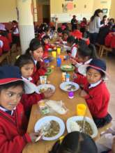 Nutritious Hot Meal program for all girls