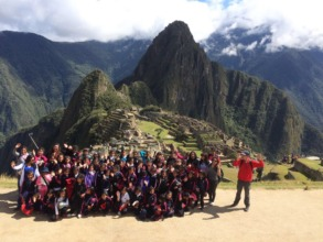 MachuPicchu Field trip for entire school-split 1/2