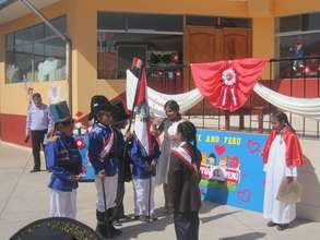 Every year Peru Independence is celebrated July 28