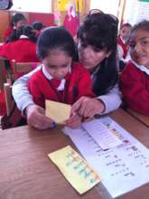 Quechua speakers learn to speak and read Spanish