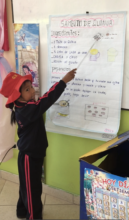 5 y/o kinder student teaches about good nutrition