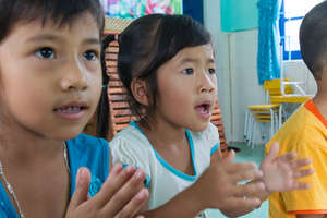 Kids learn about hygiene through musical workshop