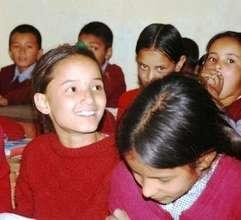 Children in one of the supplementary schools