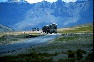 Trucks in the High Himalaya