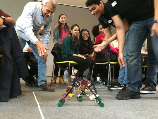 Winning robots