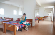Provide bedding for 300 visually challenged kids