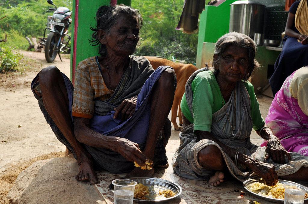 Provide neglected elders food,medicine & clothing