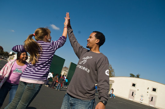 High five for last year's successes!