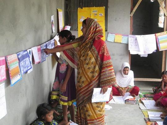 AIF Learning Centre at Village Choundi