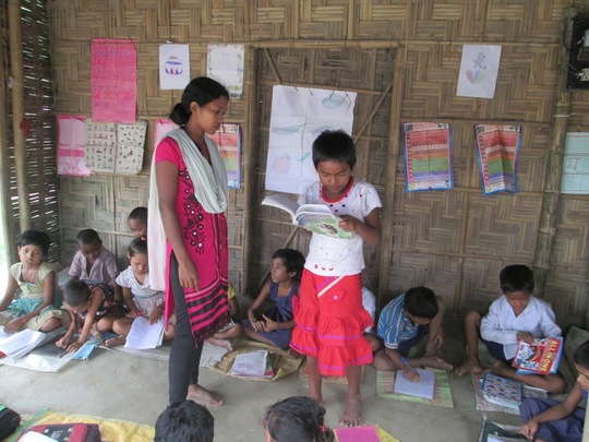 AIF Learning Centre at Village Dengapar
