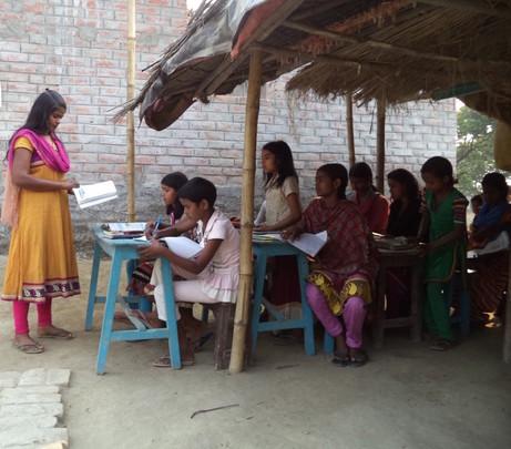 AIF Learning Center at village Simalbari
