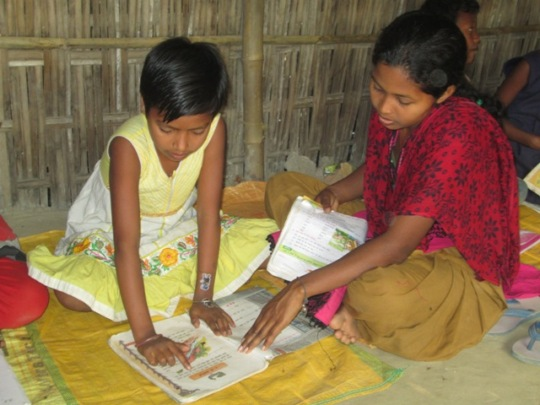 Learning centre at Village Dengapar