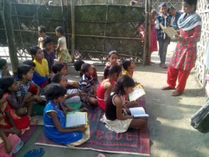 Marufa at Maheshmara Learning Centre
