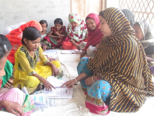 Learning centre at village Choundi