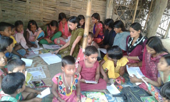 AIF Learning Centre at Maheshmara